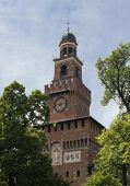 Milan Sforza Castle main tower