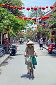 The Main Street Of Hoi An, Vietnam.