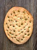 Rustic Italian Rosemary Herb Foccacia Bread