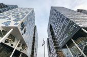 Modern Buildings In Oslo Downtown