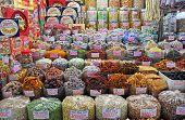 Sweet Stall At Ben Tanh Market, Ho Chi Minh City.