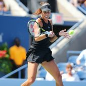 Grand Slam Champion Ana Ivanovic from Serbia during US Open 2014 first round match