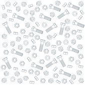 Seamless nuts and bolts