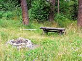 Place To Sit And Relax In The Countryside