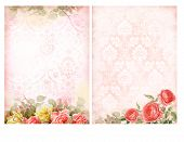 picture of shabby chic  - Shabby chic backgrounds with roses - JPG