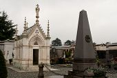 stock photo of wraith  - Monumental Cemetery in the city of Turin - JPG