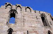 Stafford castle ruin.