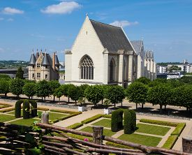 pic of anjou  - Chapel in the Chateau d - JPG