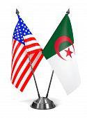 stock photo of algeria  - USA and Algeria  - JPG