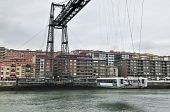 Shuttle Bridge Vizcaya - Bilbao, Basque Country, Spain