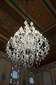 picture of harem  - Crystal lamp in Divan room of the Khan - JPG