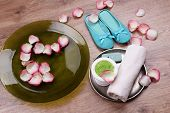 pic of pedicure  - Spa bowl with water - JPG