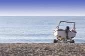 Постер, плакат: Boat On The Sand