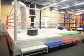 foto of boxing ring  - The image of boxing ring - JPG