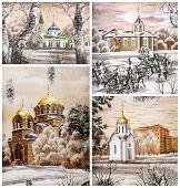 Russia, Novosibirsk, churchs