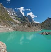 Miage Lake, Courmayeur