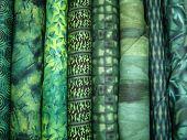Green Fabric Bolts