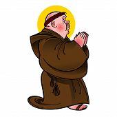 Holy Saint Monk