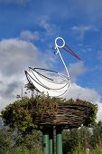 image of uglich  - A stork is the symbol of fertility - JPG