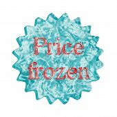 Button Icon: Price Frozen