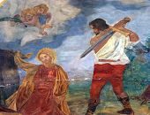 stock photo of beheading  - The Beheading of Saint Catherine of Alexandria  - JPG