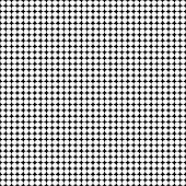 Grid texture with white octagons on black background