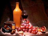 Wine, Tobacco, Grape, Garnet
