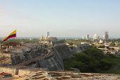 San Felipe De Barajas Castle. Cartagena De Indias, Colombia