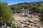 Tempel der großen Götter auf der Insel Samothraki