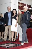 LOS ANGELES - MAY 4: Andy Ackerman, Julia Louis-Dreyfus, Jason Alexander, Larry David at a ceremony