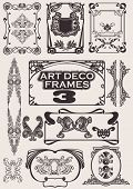 Set Of Art Deco Frames.