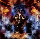 Princess of the Underworld - Dark Princess on her Throne