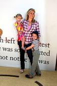 LOS ANGELES - JUL 10:  Megan Sanov, Alison Sweeney, Ben Sanov arriving at the