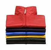 Stack of Windbreaker