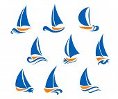 Yachting And Regatta Symbols