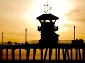 Lifeguard's Silhouette