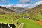 Picturesque Farm In English Lake District