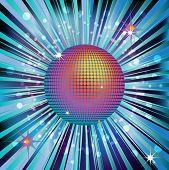 Shiny Gold Disco Ball