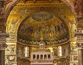 St Maria Basilica In Trastevere In Rome
