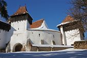 Fortified church of Viscri, Transylvania, Romania