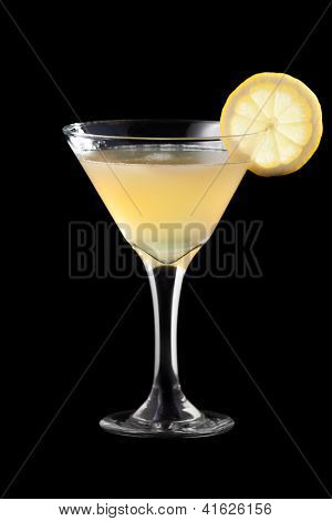 Charlie Chaplin coctail isolated on