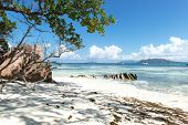 Fabulous beach In Seychelles