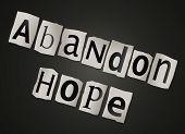 Geven hoop.