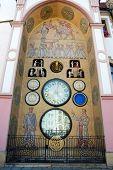 Old Astronomical Clock In Olomouc, Czech Republic