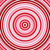Color circles in shades of pink and red.