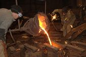 stock photo of ladle  - Foundry  - JPG