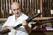 stock photo of gun shop  - Middle - JPG