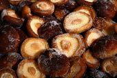 Frozen shiitake mushrooms