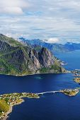 stock photo of lofoten  - Lofoten island - JPG