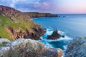 Lands End Cornwall England UK